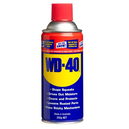hollywood props sales expendables adhesives lubricant wd 40 aerosol. Black Bedroom Furniture Sets. Home Design Ideas