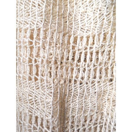 ... Props ? Fabrics Curtains Blankets & Linen ? Cream Crochet Curtains